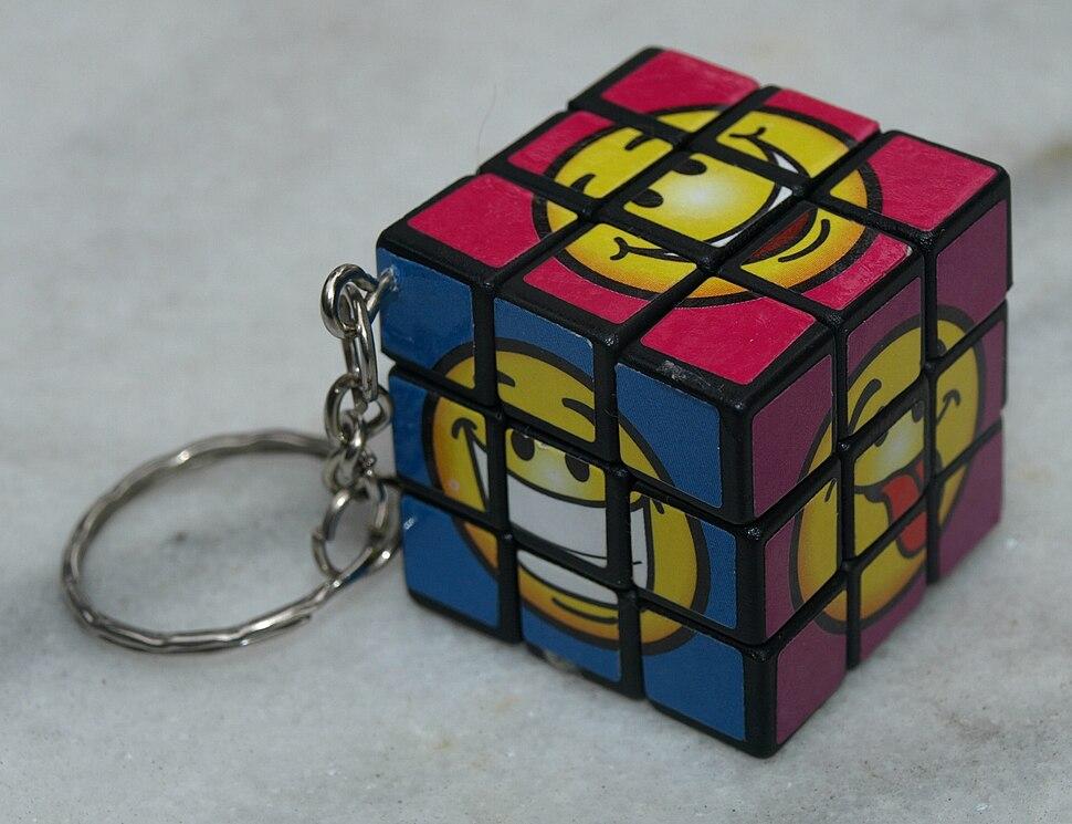 Novelty Keychain Rubiks Cube