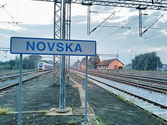 Novska - Image: Novska railway station Станица у Новској 03