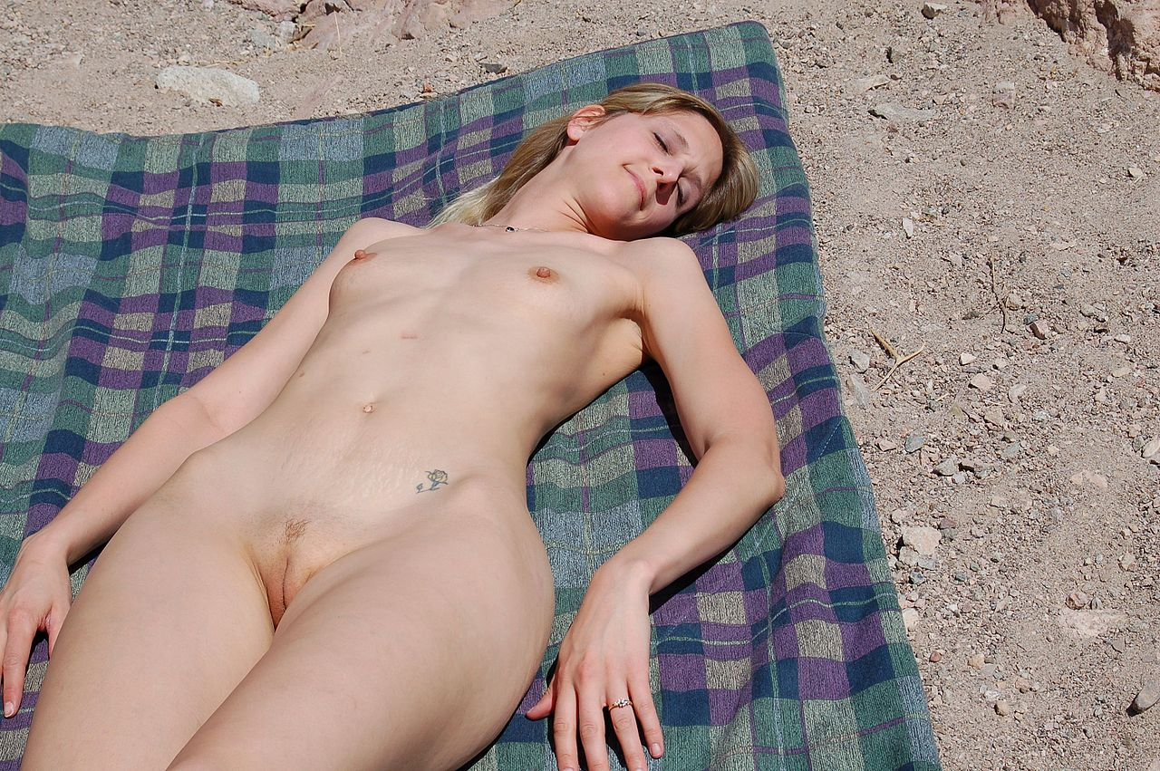 You hard Interracial group nude sunbathing pictures