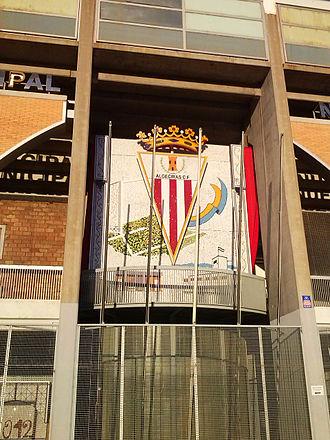 Algeciras CF - Image: Nuevo Mirador detalle