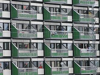 Blok P - Blok P, balconies