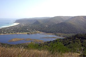 Nature's Valley - Groot River lagoon and Nature's Valley