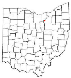 Location of Spencer, Ohio