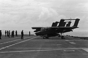 USS Nassau (LHA-4) - OV-10 Broncos aboard Nassau in 1983
