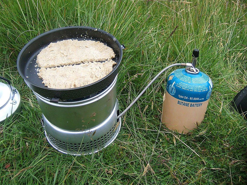 baking oatcakes on a trangia gas fired stove. Black Bedroom Furniture Sets. Home Design Ideas