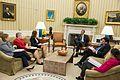 Obama-Ron Klain-Ebola response meeting-Oct 22 2014.jpg