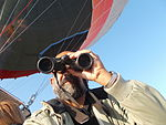 Observing the Earth below from a 'Hot Air Balloon'.JPG
