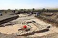October 1, 2016. Door-sockets. Excavations at Yasin Tepe, Shahrizor Plain, Sulaymaniyah Governorate. Iraq.jpg