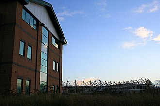 Pride Park - Image: Office Building and Pride Park Stadium geograph.org.uk 1058487