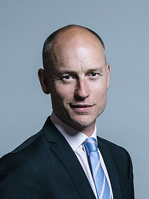 Stephen Kinnock - Image: Official portrait of Stephen Kinnock crop 2