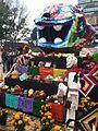 Ofrenda con cabeza jaguar MegaOfrenda UNAM 2012.JPG