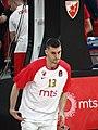 Ognjen Dobrić 13 KK Crvena zvezda EuroLeague 20191010 (2).jpg