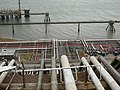 Oil refinery pipework as seen from the Pembrokeshire Coastal Path - geograph.org.uk - 1637373.jpg