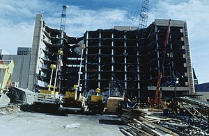 Terrorism in the United States - Oklahoma City bombing aftermath on April 26, 1995
