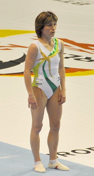Oksana Chusovitina - Chusovitina in 2011