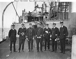 Olaf M. Hustvedt - Image: Olaf M. Hustvedt USS Alabama