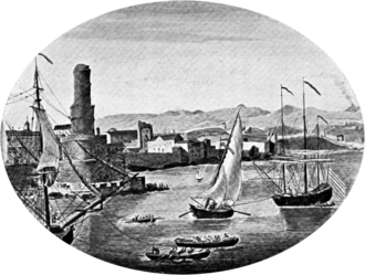 Port Royal - An illustration of pre-1692 Port Royal