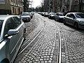 Old tram tracks, Poznan Sczanieckiej and Boguslawskiego Streets (4).jpg