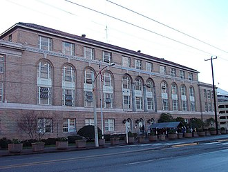 Immigration and Naturalization Service - Old INS building in Seattle