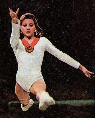 Olga Korbut - Korbut c. 1972