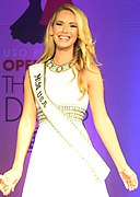 Olivia Jordan, 2015 Miss USA, at Operation That's My Dress.jpg