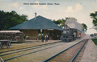Onset, Massachusetts - Onset Jt. Station, ca. 1910