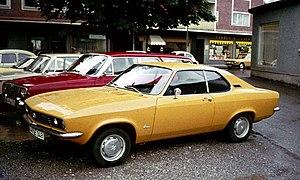 Opel Manta - Image: Opel Manta Garmisch
