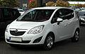 Opel Meriva 1.4 ecoFLEX Design Edition (B) – Frontansicht, 17. Mai 2011, Velbert.jpg