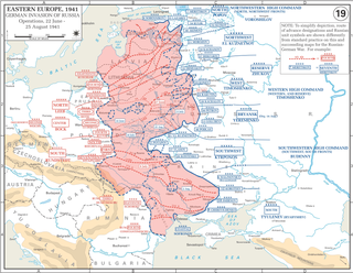 Order of battle for Operation Barbarossa