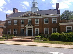 Orange County Courthouse in Hillsborough, North Carolina