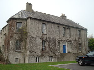 Ordnance Survey Ireland - Mountjoy House, the headquarters of Ordnance Survey Ireland, in the Phoenix Park, Dublin