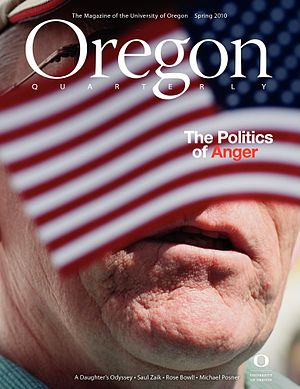 Oregon Quarterly - The Spring 2010 issue of Oregon Quarterly