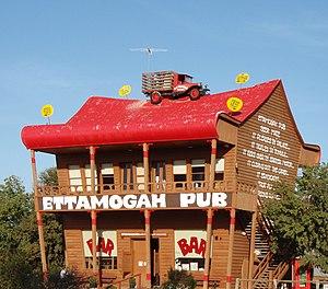 Ettamogah Pub - The original Ettamogah Pub at Table Top, NSW
