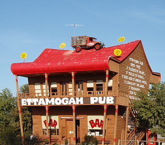 Ettamogah Pub - The original Ettamogah Pub at Table Top, NSW