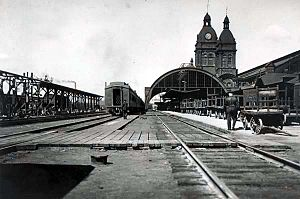 Toronto Union Station (1873) - Image: Original Union Station in Toronto