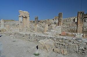 Tripolis on the Meander - Orpheus Fountain (nymphaeum) in Tripolis, Turkey