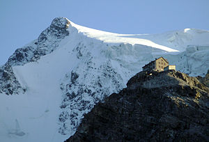 Ortler - Payer house on the North ridge