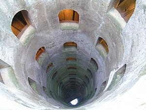 Orvieto - The Pozzo di S. Patrizio, a well built for the Popes.