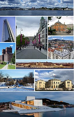 How to get to Oslo with public transit - About the place