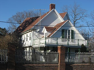 National Register of Historic Places listings in Delaware County, Indiana - Image: Otto Carmichael House