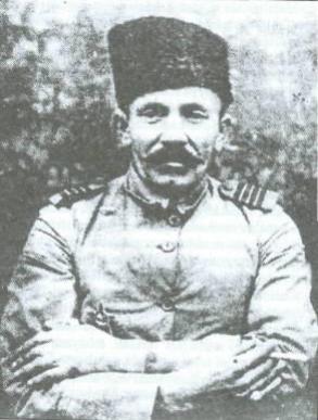Ottoman soldier in Azerbaijan