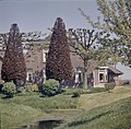 Overzicht boerderij, voorgevel en rechter zijgevel - Bodegraven - 20372666 - RCE.jpg