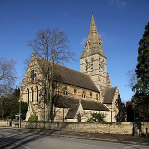 George Edmund Street - Former parish church of SS Philip and James in North Oxford