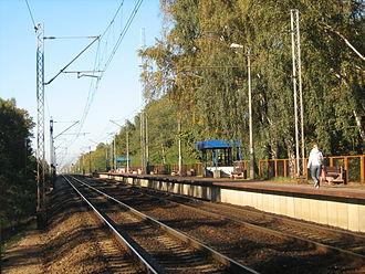 Warszawa Wola Grzybowska railway station - Image: PKP Warsaw Wola Grzybowska