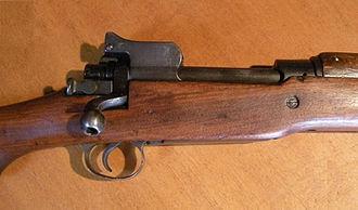 M1917 Enfield - M1917 Enfield breech