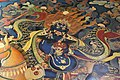 Painting in the chapel housing the burial chorten of the 10th Panchen Lama, Tashilhunpo Monastery, Shigatse, Tibet (5).jpg