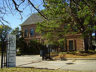 Harris County, Texas - The Consulate-General of Pakistan in Houston in an unincorporated area of Harris County