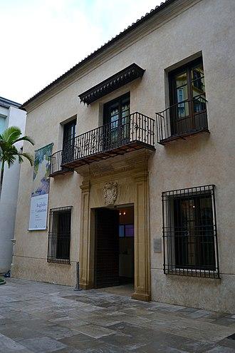 Carmen Thyssen Museum - Image: Palacio de Villalón