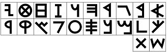 Hebrew alphabet - Paleo-Hebrew alphabet