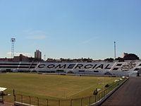 Arquibancadas do Estádio Palma Travassos, do Comercial